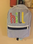 Applique Name Backpack
